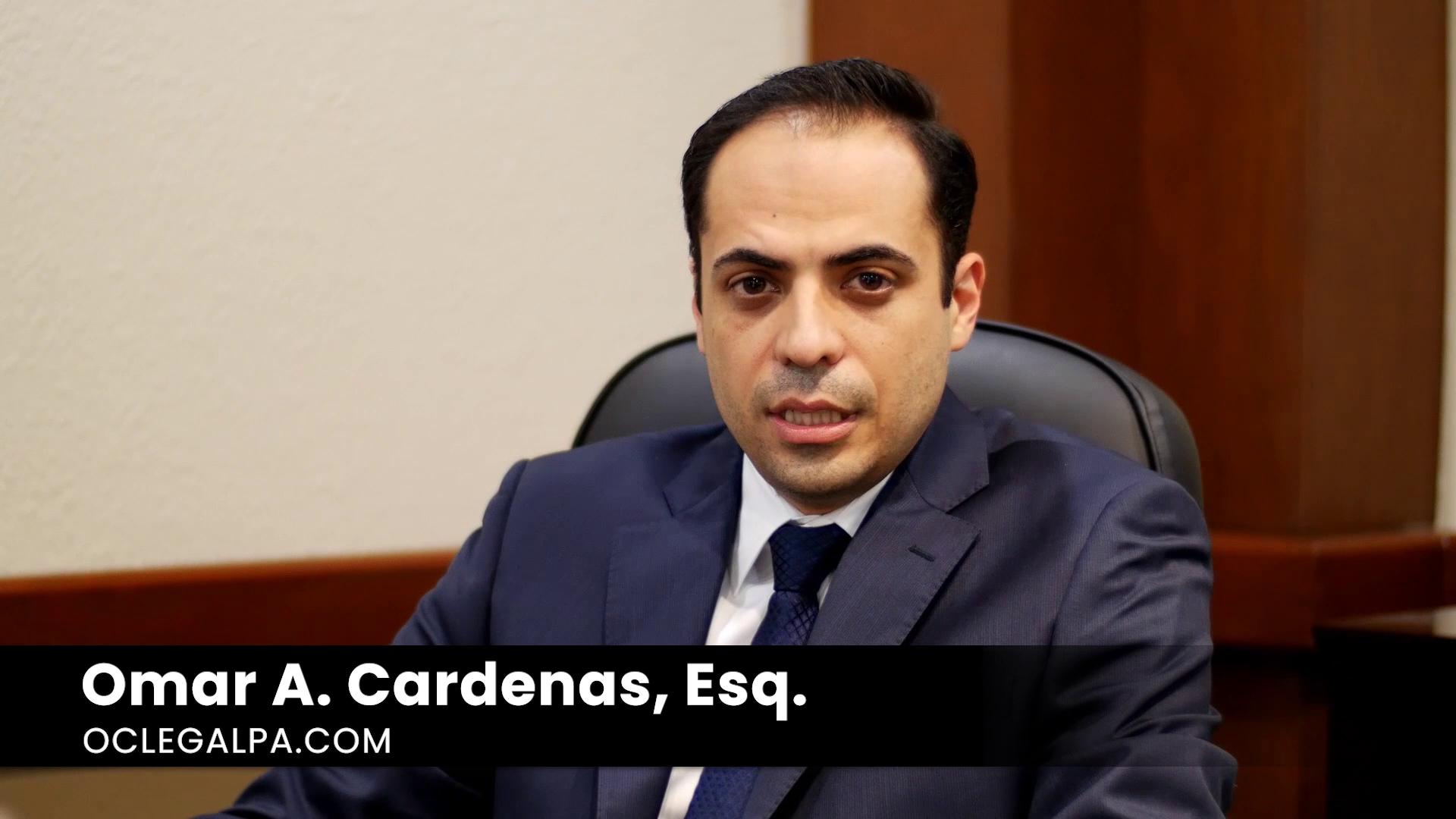 Meet Omar Cardenas, Esq.